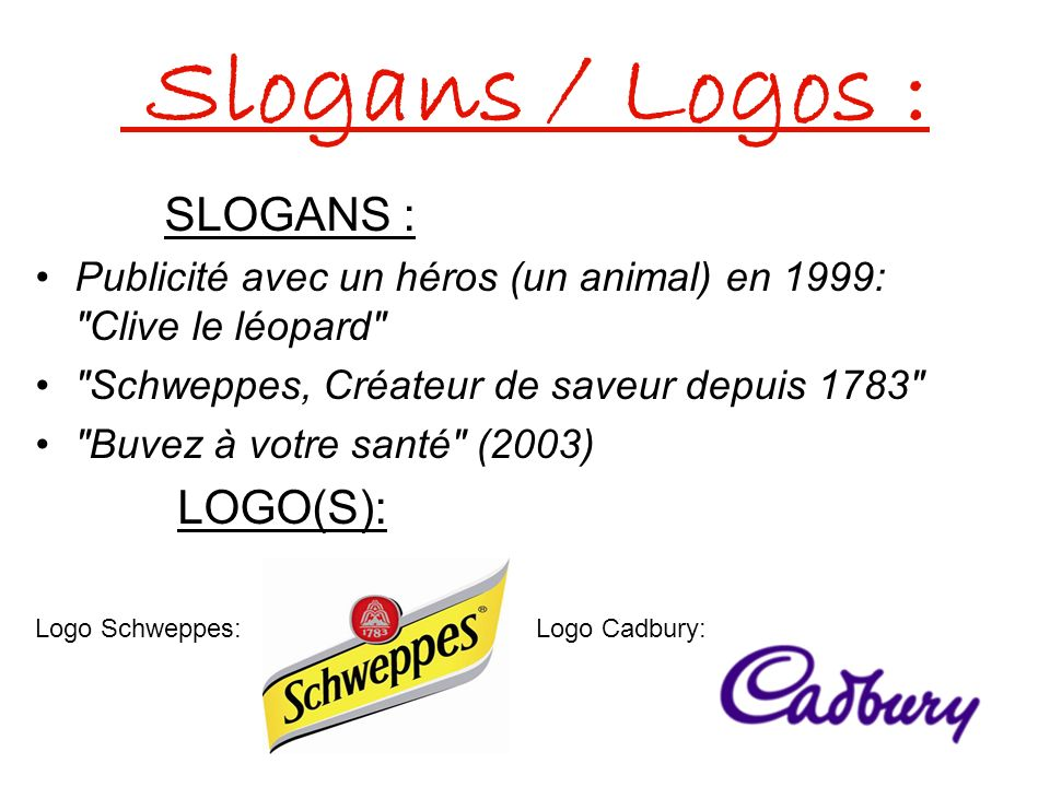 Slogans / Logos : SLOGANS : LOGO(S):