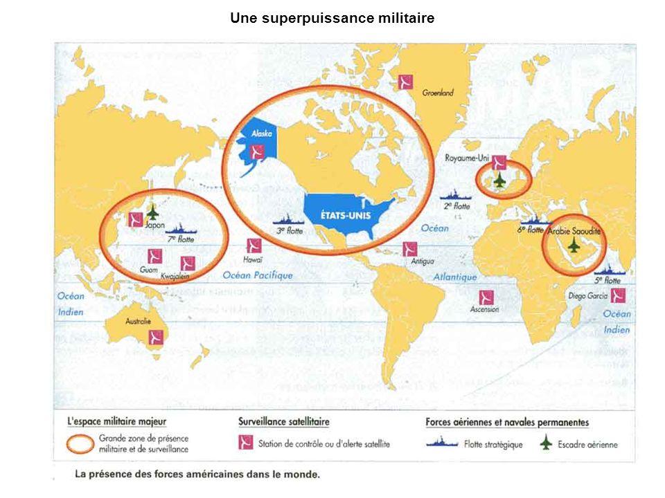 Une superpuissance militaire