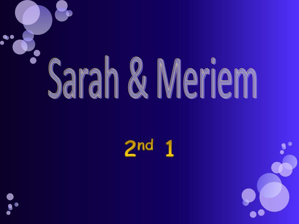 Sarah & Meriem 2nd 1