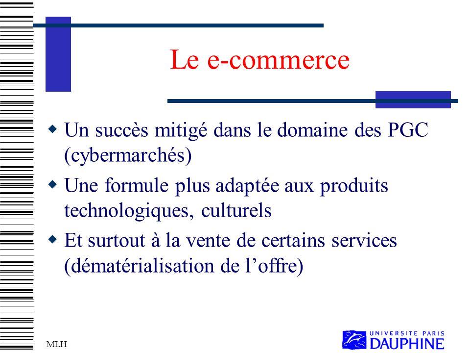 Le e-commerce Un succès mitigé dans le domaine des PGC (cybermarchés)