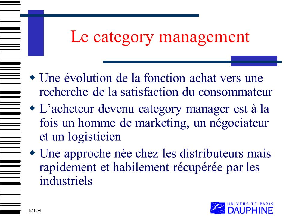 Le category management