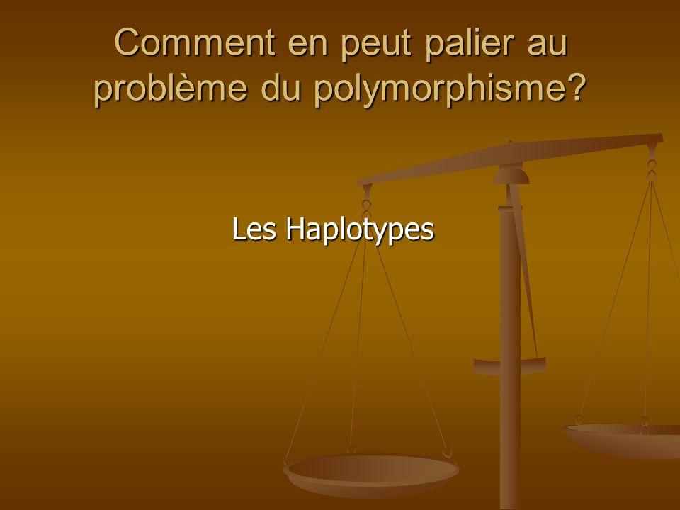 Comment en peut palier au problème du polymorphisme
