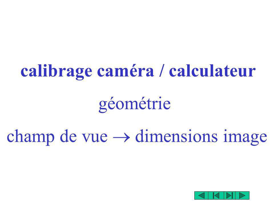 champ de vue  dimensions image