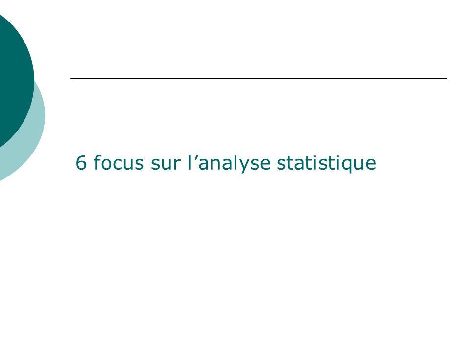 6 focus sur l'analyse statistique