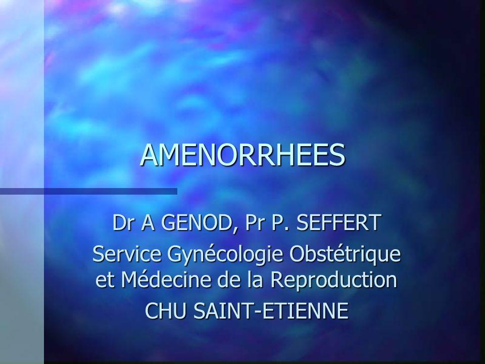 Service Gynécologie Obstétrique et Médecine de la Reproduction