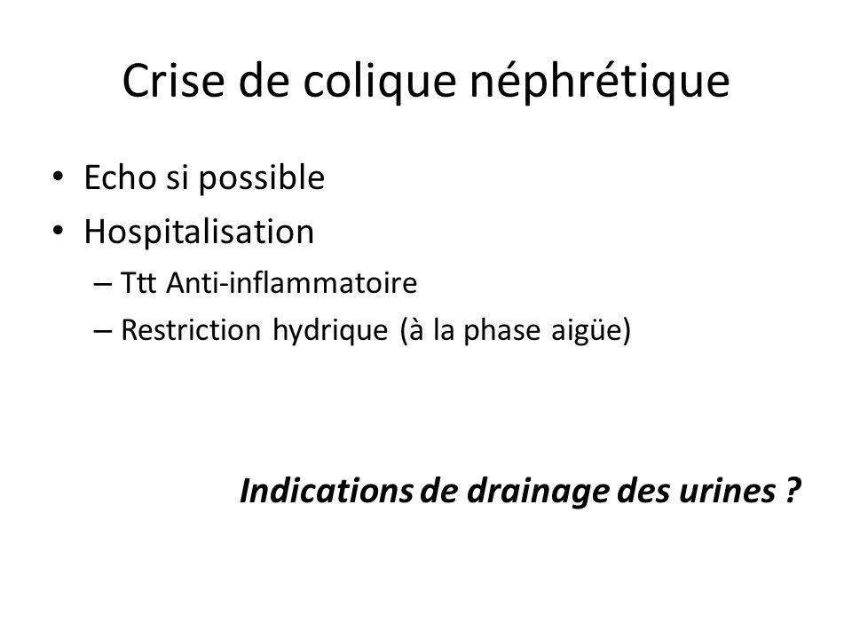 Crise de colique néphrétique