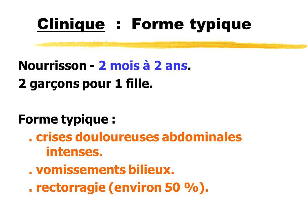 Clinique : Forme typique