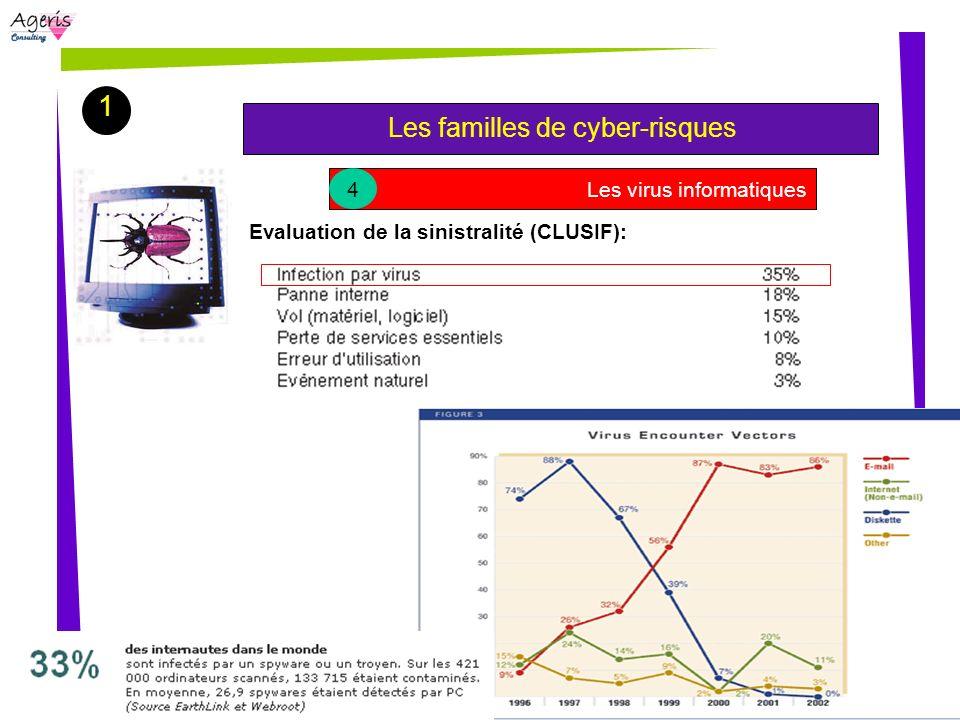 1 Les familles de cyber-risques 4 Les virus informatiques