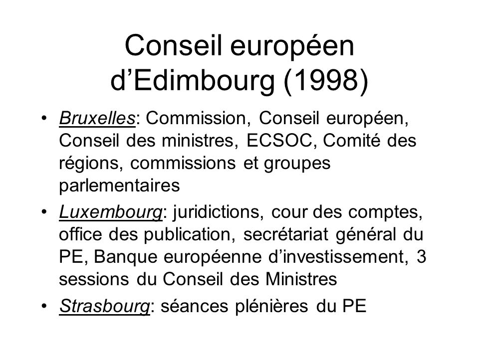Conseil européen d'Edimbourg (1998)