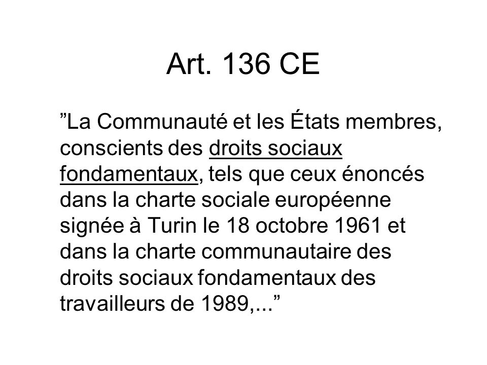 Art. 136 CE