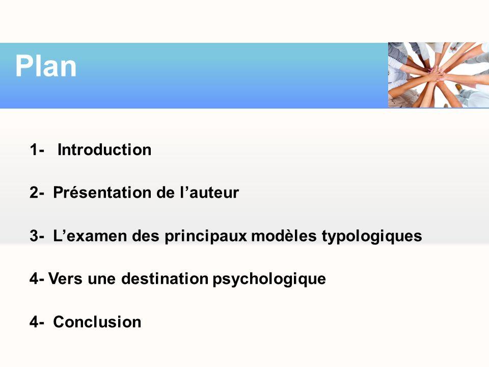 Plan 1- Introduction 2- Présentation de l'auteur