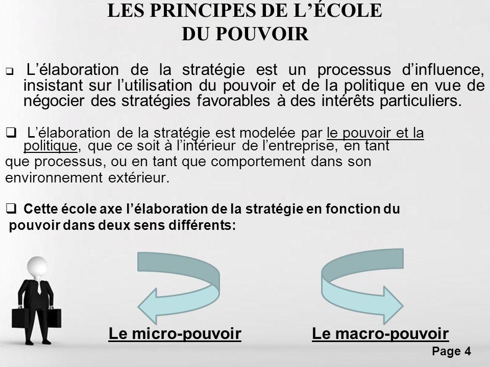 LES PRINCIPES DE L'ÉCOLE