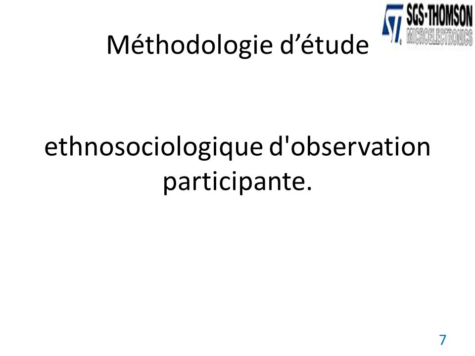 ethnosociologique d observation participante.