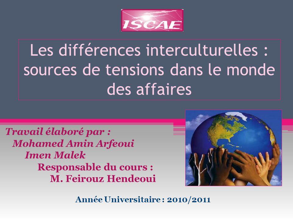 Année Universitaire : 2010/2011
