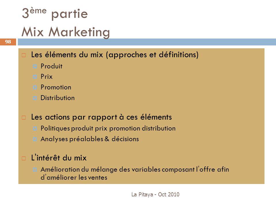 3ème partie Mix Marketing