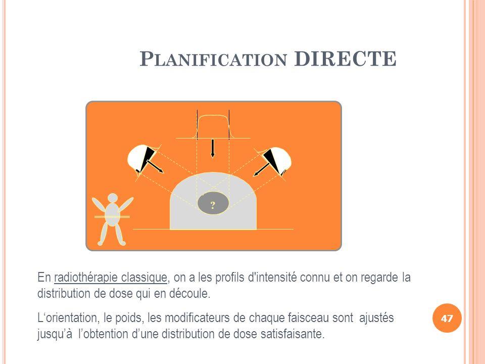 Planification DIRECTE
