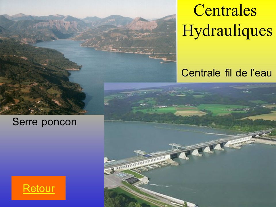 Centrales Hydrauliques