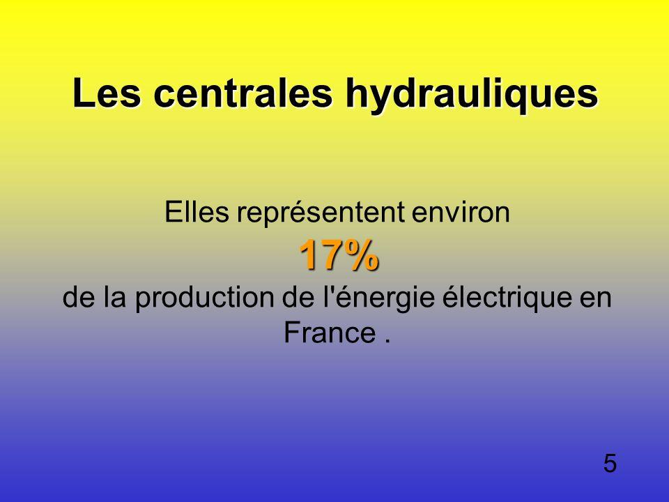 Les centrales hydrauliques