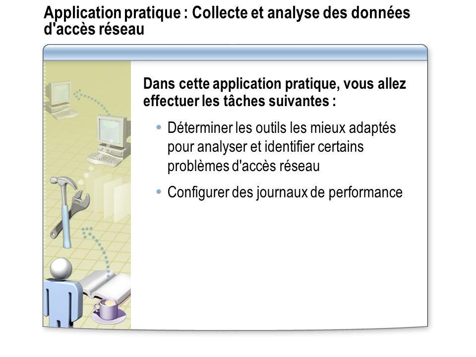 Application pratique : Collecte et analyse des données d accès réseau