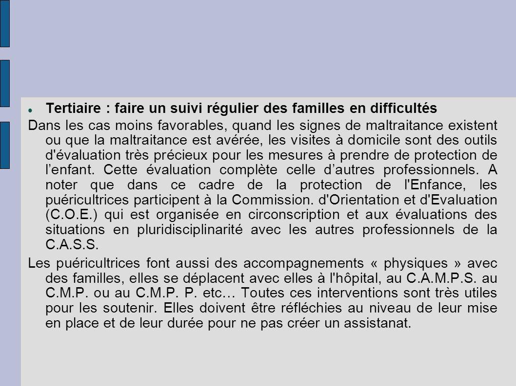 Tertiaire : faire un suivi régulier des familles en difficultés