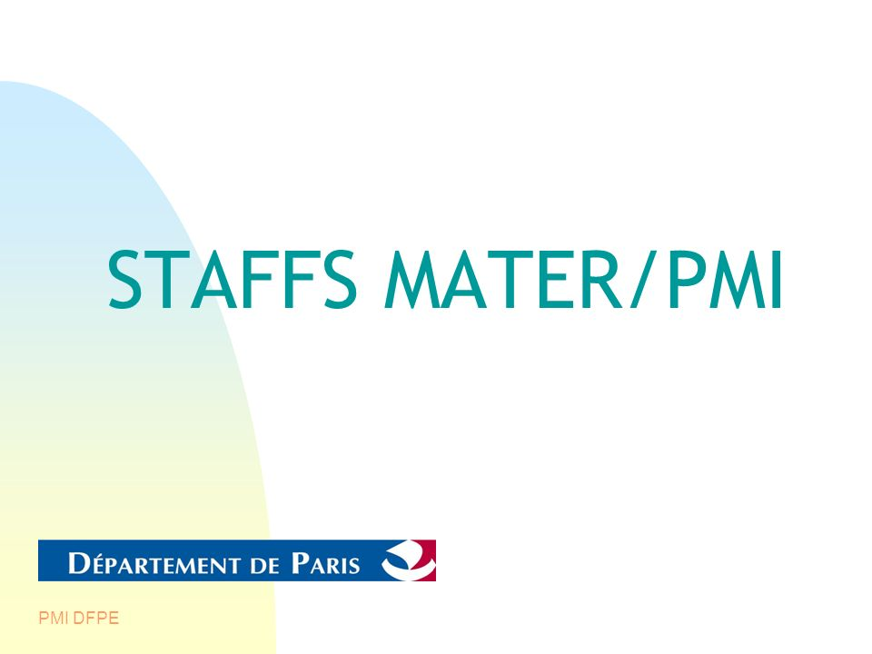STAFFS MATER/PMI