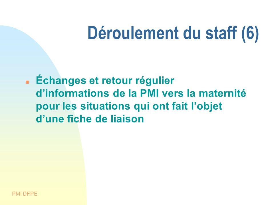 Déroulement du staff (6)