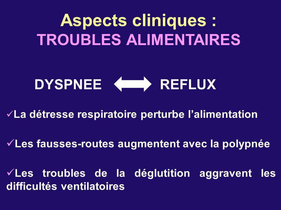 TROUBLES ALIMENTAIRES