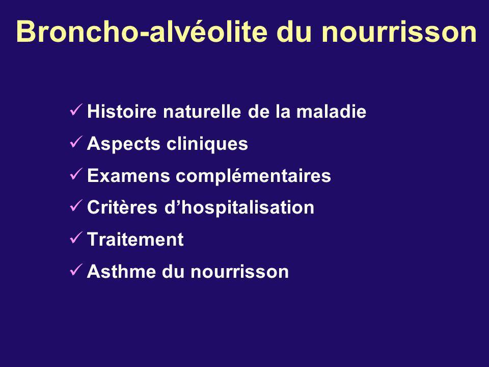 Broncho-alvéolite du nourrisson
