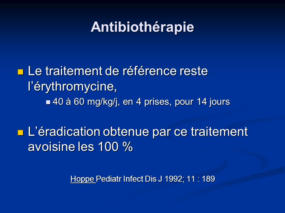 Hoppe Pediatr Infect Dis J 1992; 11 : 189