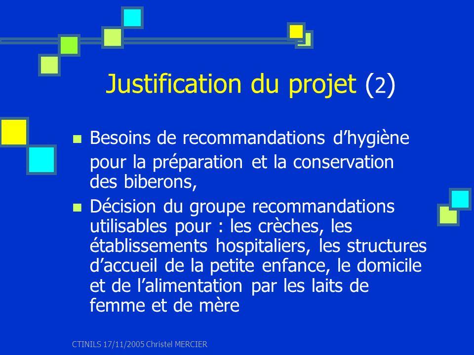 Justification du projet (2)