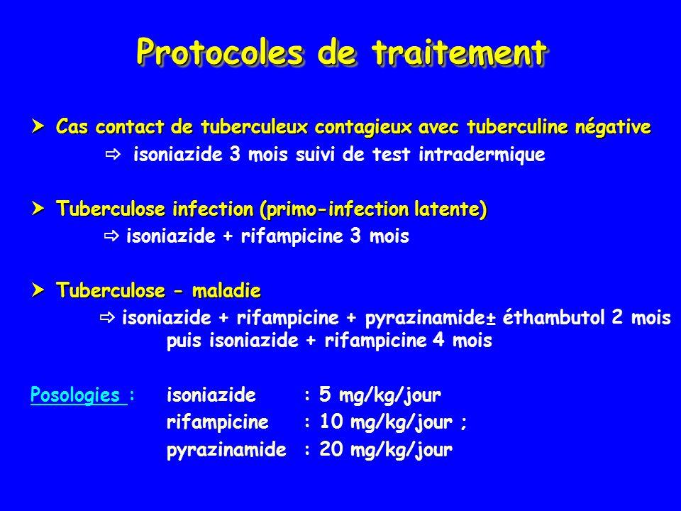 Protocoles de traitement