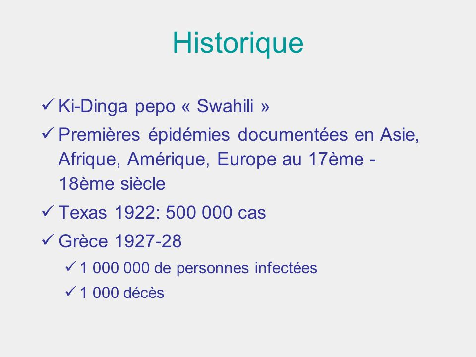 Historique Ki-Dinga pepo « Swahili »