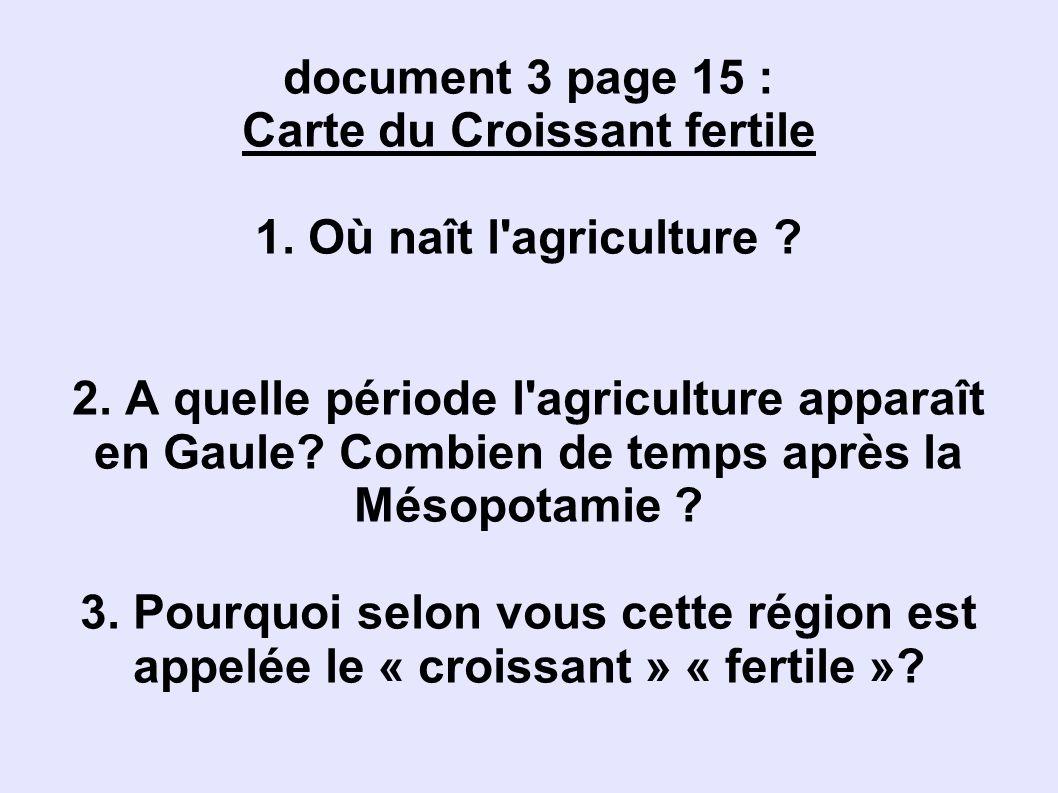 Carte du Croissant fertile