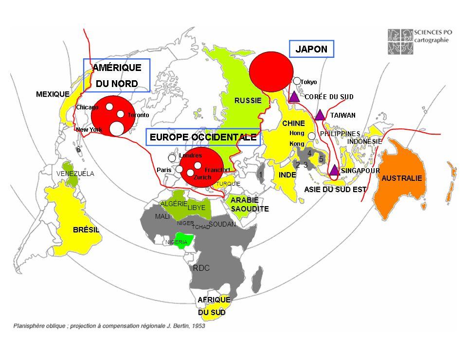 6 4 5 2 3 1 RDC RUSSIE ARABIE SAOUDITE PHILIPPINES INDONÉSIE VENEZUELA