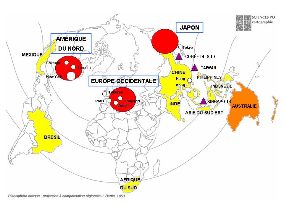 MEXIQUE CHINE INDE ASIE DU SUD EST BRÉSIL AFRIQUE DU SUD PHILIPPINES