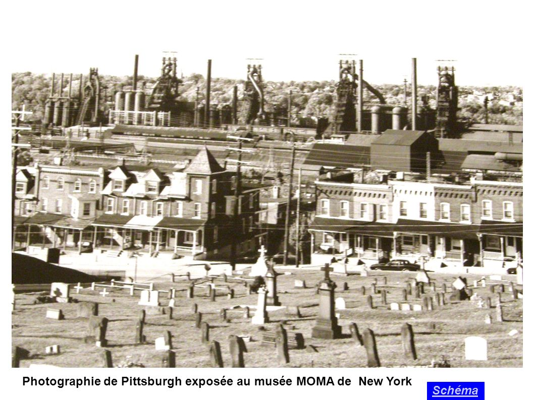Photographie de Pittsburgh exposée au musée MOMA de New York