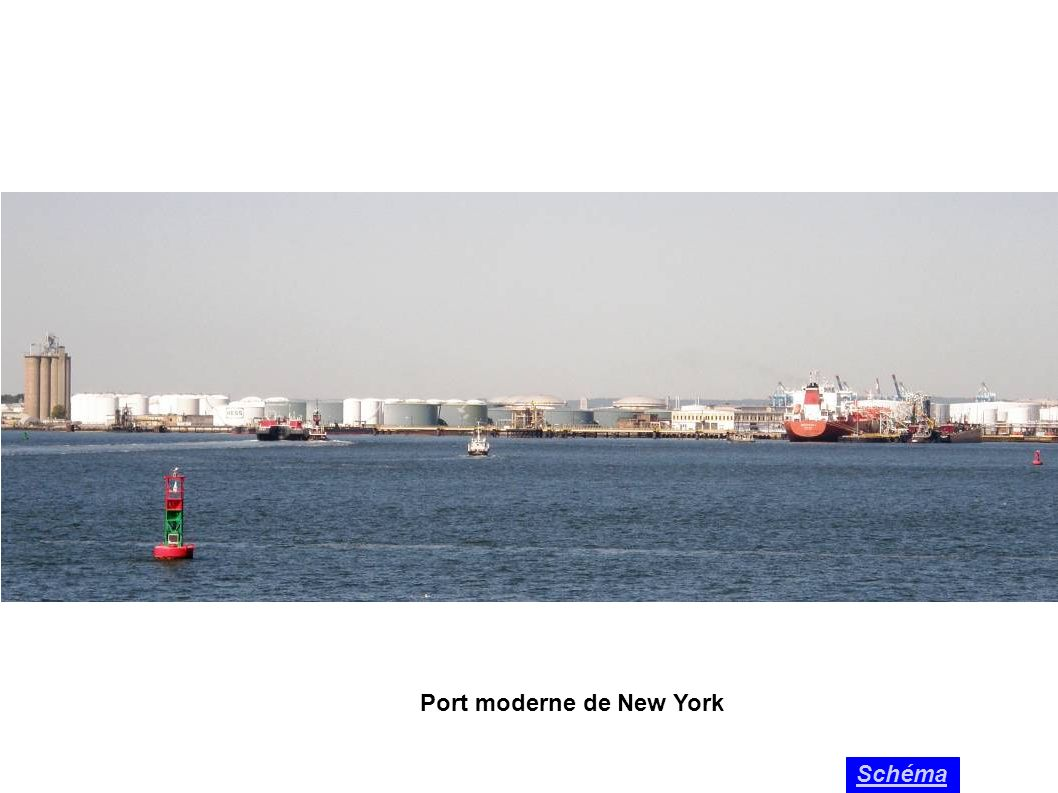 Port moderne de New York