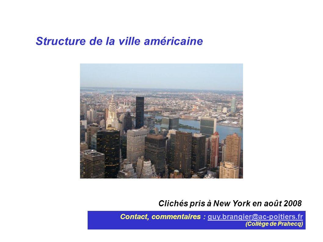 Structure de la ville américaine