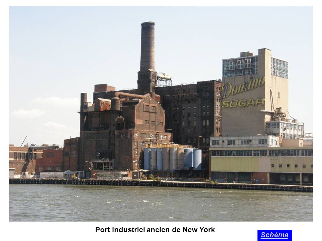 Port industriel ancien de New York