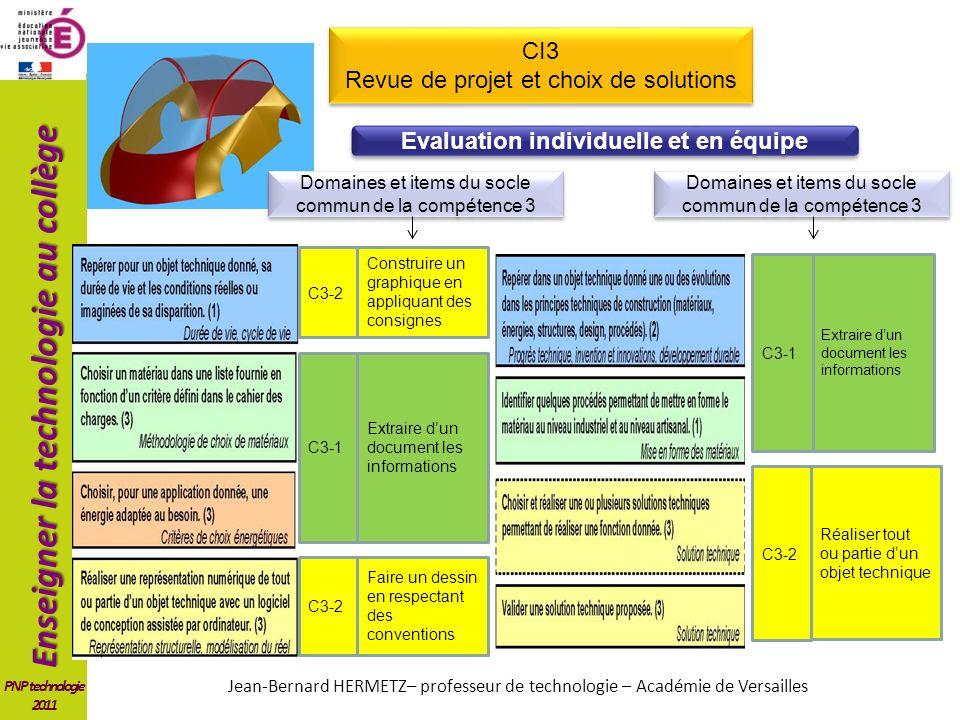 Evaluation individuelle et en équipe
