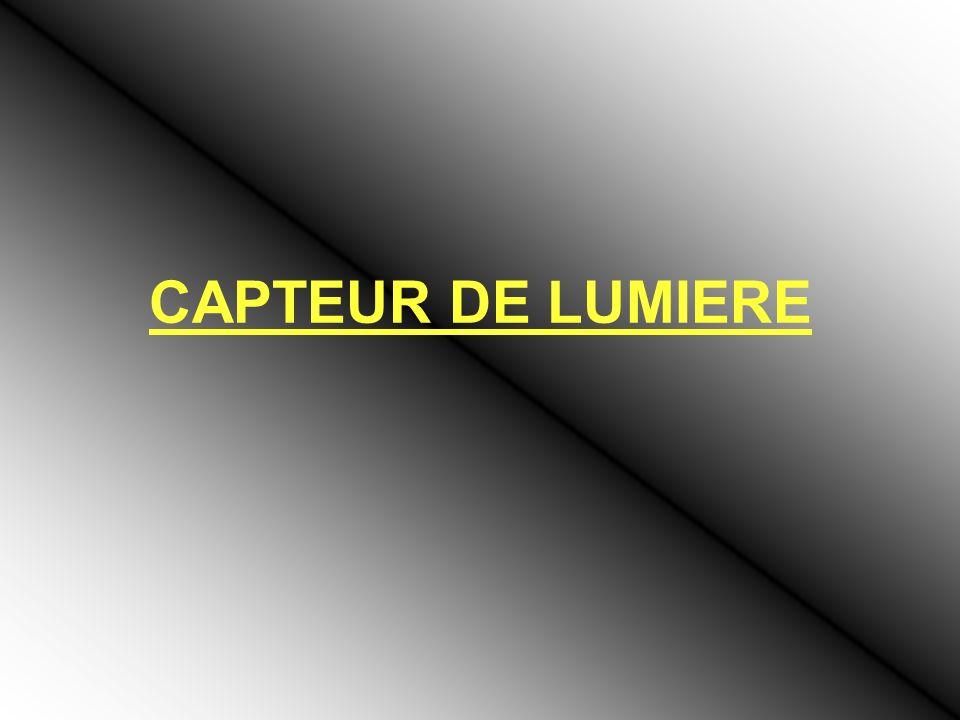 CAPTEUR DE LUMIERE