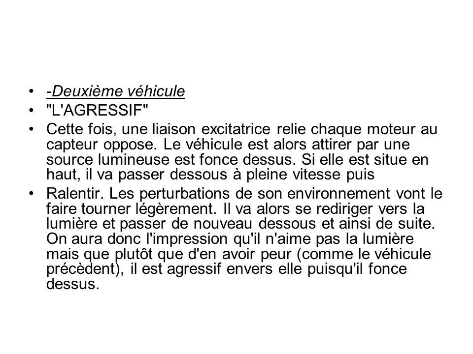 -Deuxième véhicule L AGRESSIF