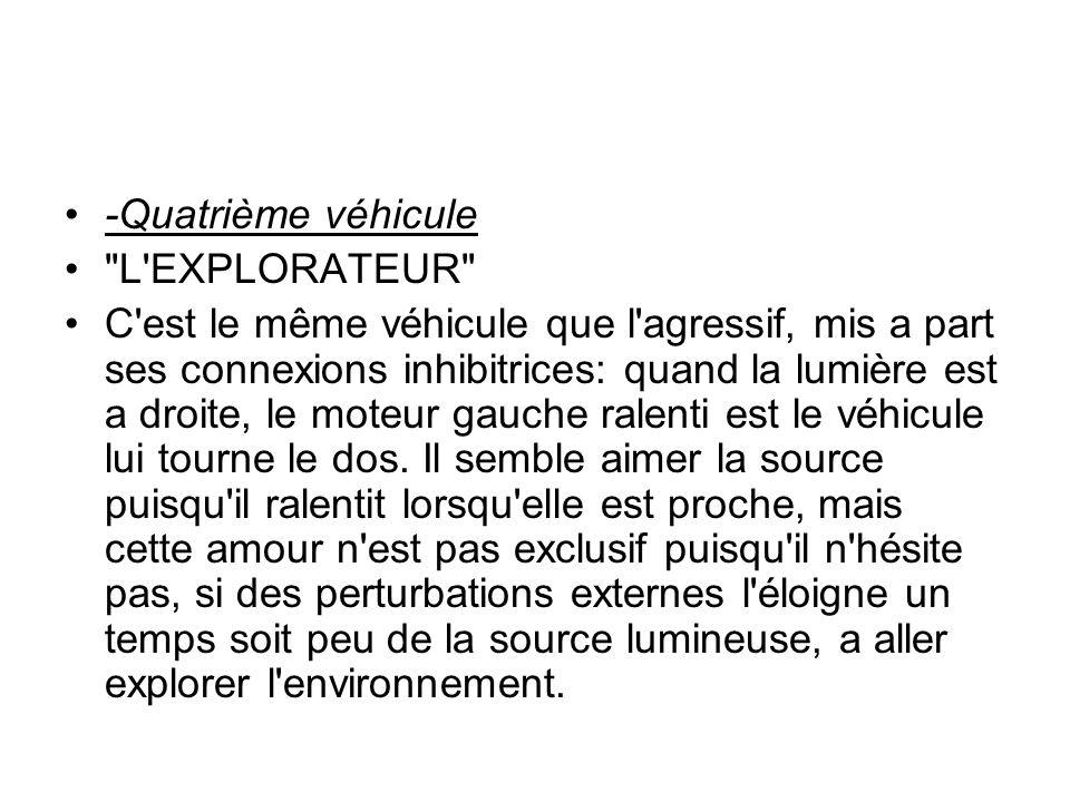 -Quatrième véhicule L EXPLORATEUR