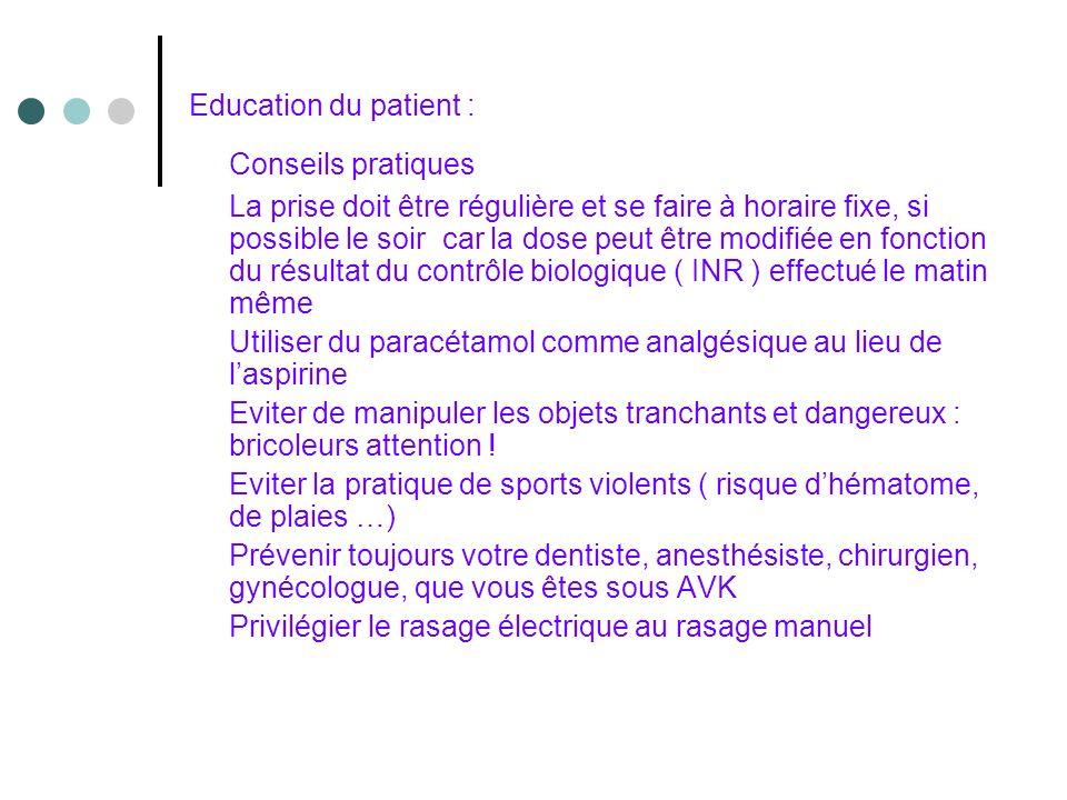 Education du patient : Conseils pratiques