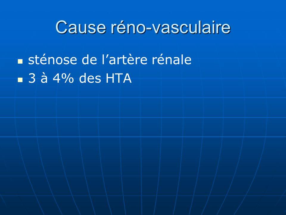 Cause réno-vasculaire