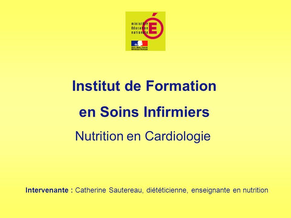 Nutrition en Cardiologie