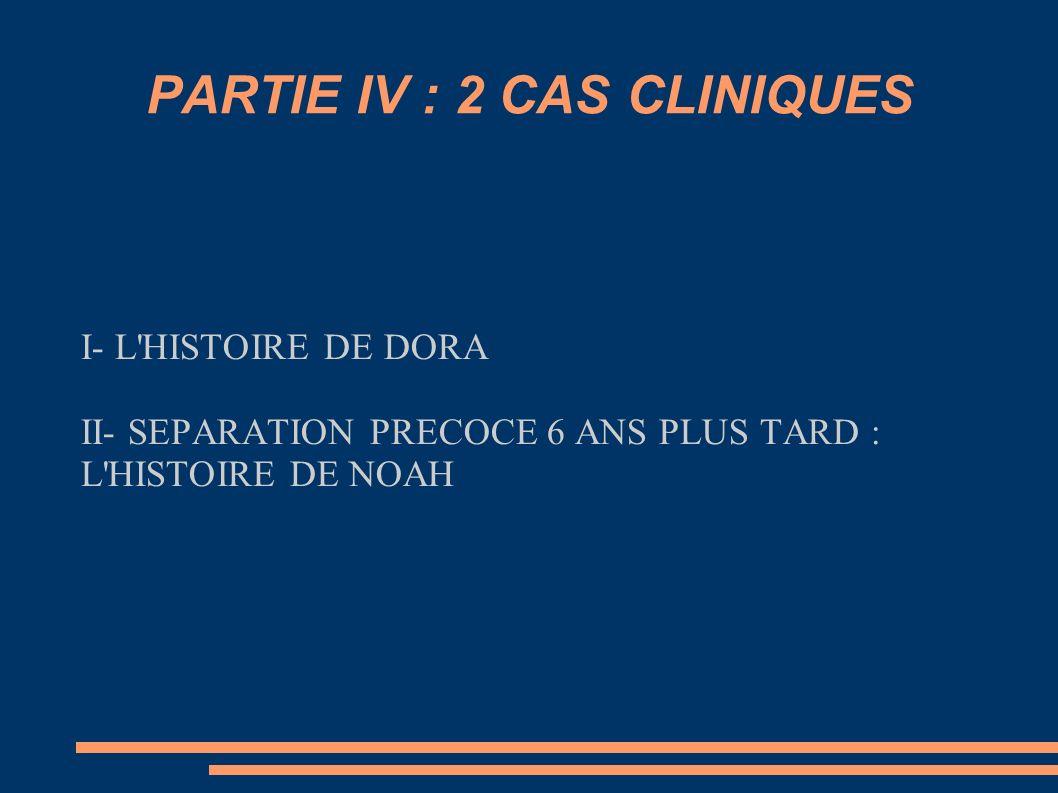 PARTIE IV : 2 CAS CLINIQUES