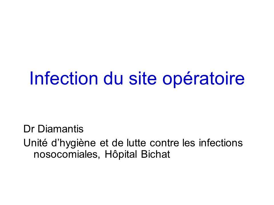 Infection du site opératoire