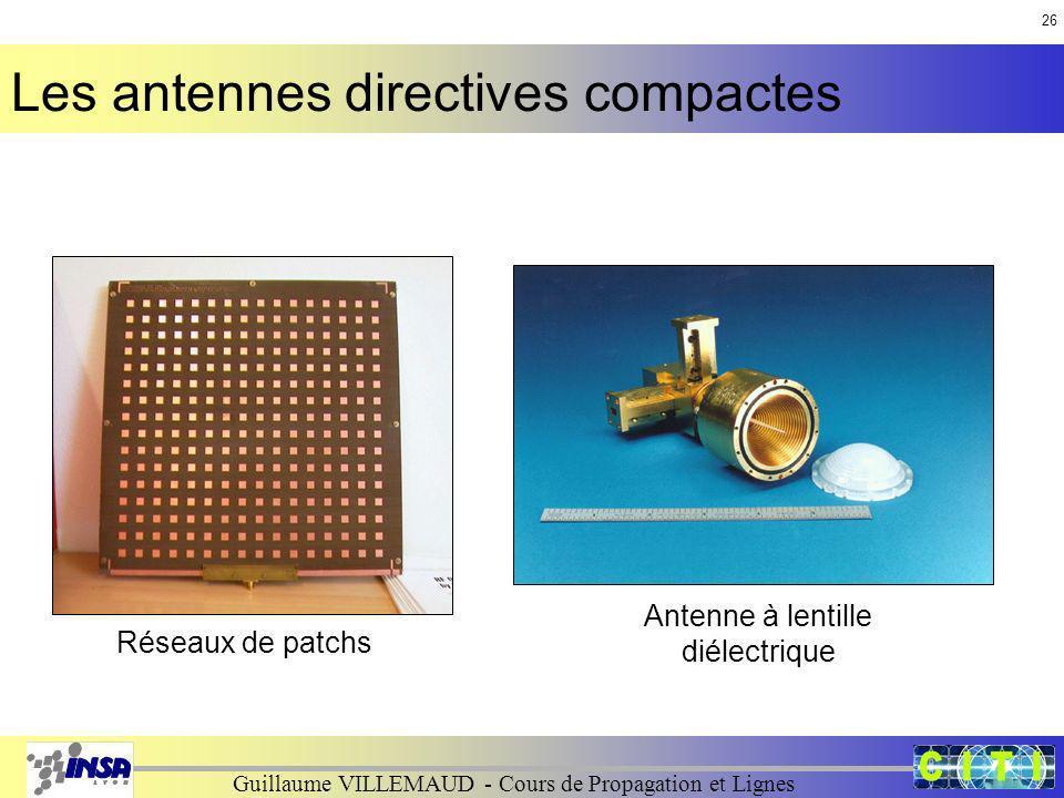 Antenne à lentille diélectrique