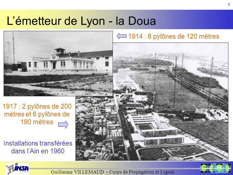 L'émetteur de Lyon - la Doua